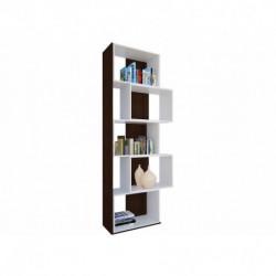Biblioteca juvenil wengue cubos blancos