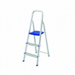 Escalera de aluminio 3 escalones Mor Plegable Ultra Liviana