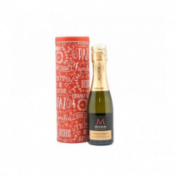 Lata y champagne Navideño