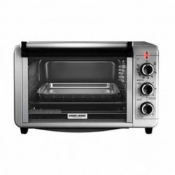 Horno Electrico Black & Decker To3210 Ssd 24l 1500w