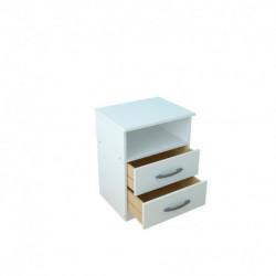 Mesa de luz express blanca