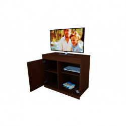 Mesa TV 120 melamina wengue (chocolate) (56166)