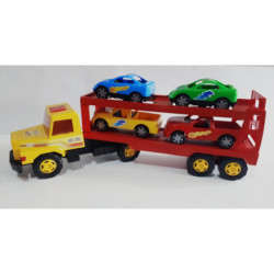 Camión transportador de autos