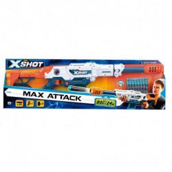 X-Shot Rifle lanza dardos Max attack