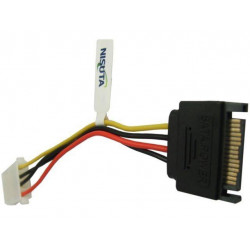 CABLE SATA M A POWER MOLEX 15 CM