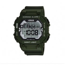 Reloj Digital Lorus By Seiko R2305lx9 Alarma Luz Calendario