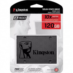 DISCO SÓLIDO SSD KINGSTON A400 120GB 6GB/SG 2.5 SATA 3