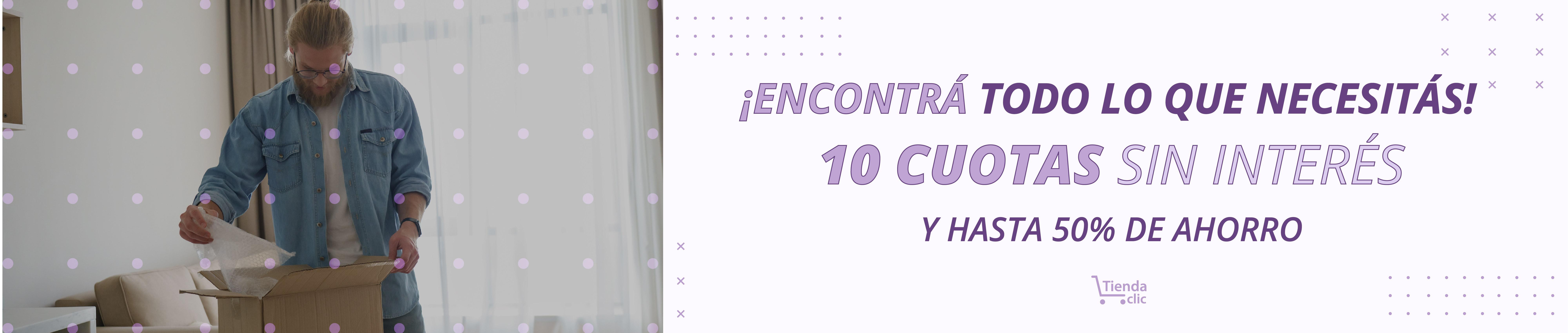 10 cuotas sin interés
